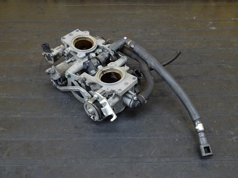 【200817】VTR250F(MC33-1500)■ スロットルボディ インジェクター 【Fi インジェクション   中古バイクパーツ通販・買取 ジャンクヤード鳥取 JunkYard
