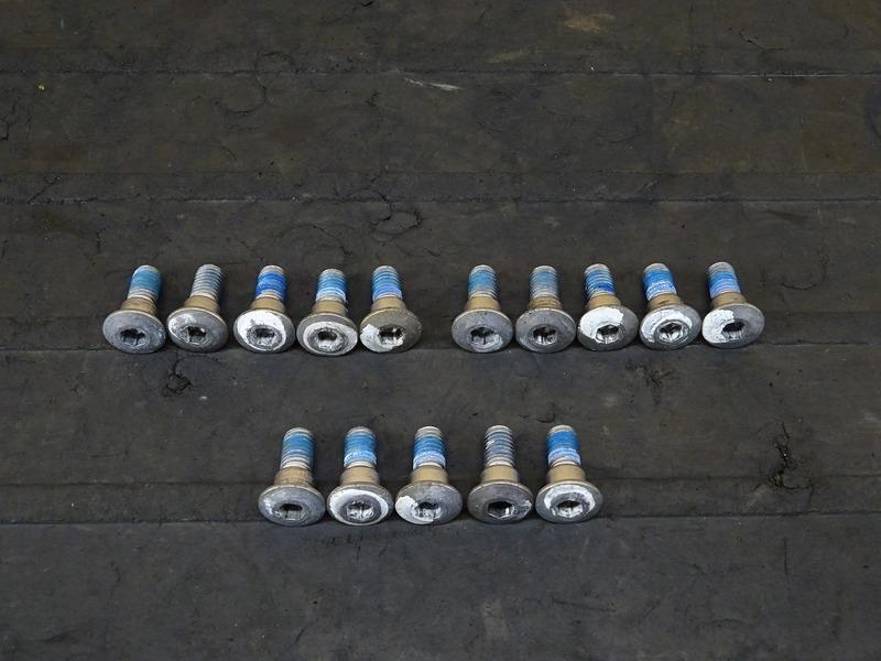 【200901】GSX1300R■ ブレーキディスクボルト15本セット 【GX72A '08- ハヤブサ 隼 後期 | 中古バイクパーツ通販・買取 ジャンクヤード鳥取 JunkYard