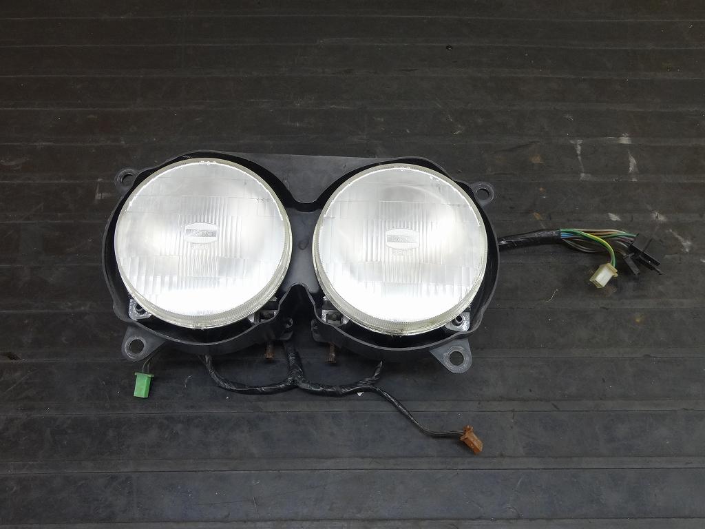 【180509.Y】FZR250(2KR-142)★純正ヘッドライト レンズ ケース サブハーネス | 中古バイクパーツ通販・買取 ジャンクヤード鳥取 JunkYard