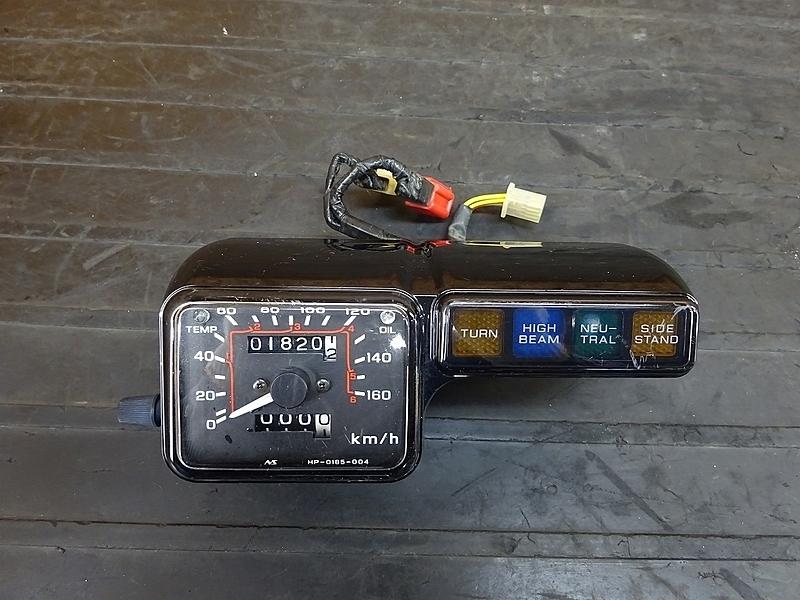 【190204.H】CRM250AR(MD32-1101)● 純正スピードメーター(1820㎞) インジケーター | 中古バイクパーツ通販・買取 ジャンクヤード鳥取 JunkYard