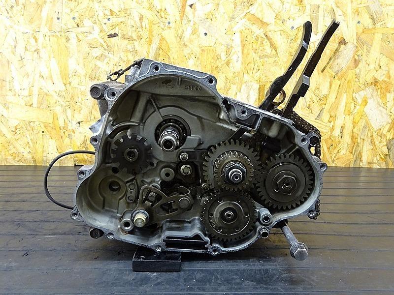 【200221】セロー250(DG17J-000)■ エンジン腰下 クランクケース クランクシャフト 【エンジンパーツ 検:トリッカー | 中古バイクパーツ通販・買取 ジャンクヤード鳥取 JunkYard