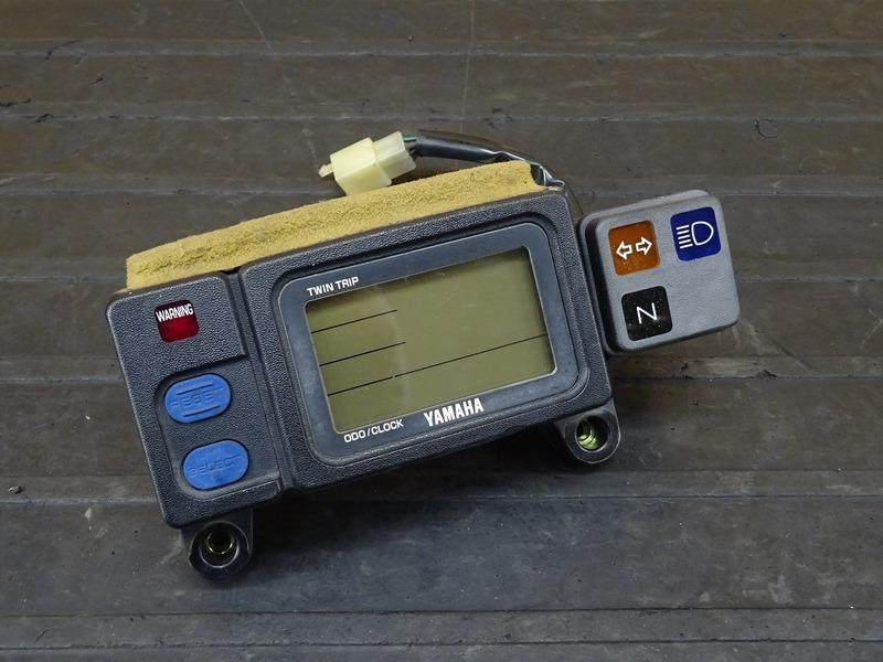 【210304】DT230 ランツァ(4TP-008)■ スピードメーター インジケーターランプ 20639㎞ 【LANZA | 中古バイクパーツ通販・買取 ジャンクヤード鳥取 JunkYard