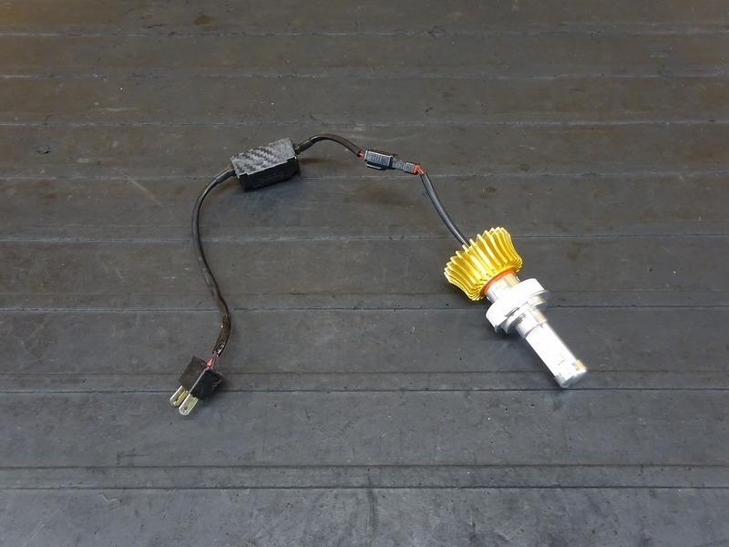 【210714】■ LEDヘッドライトバルブ(5) スフィアライト RIZING ライジング H7 ジャンク!? | 中古バイクパーツ通販・買取 ジャンクヤード鳥取 JunkYard