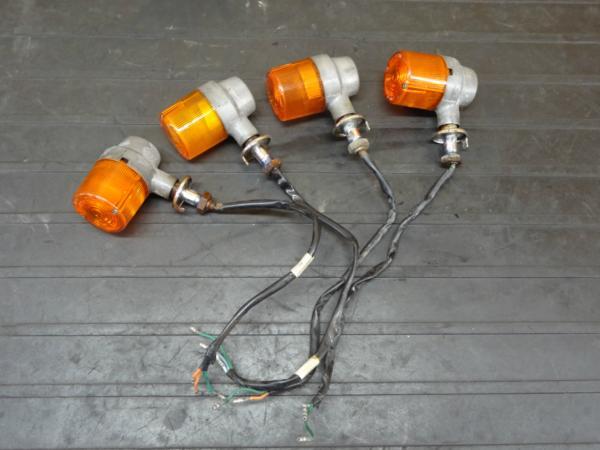 【170207】GB250クラブマン(MC10-1101)◆ウインカー 前後4個 | 中古バイクパーツ通販・買取 ジャンクヤード鳥取 JunkYard