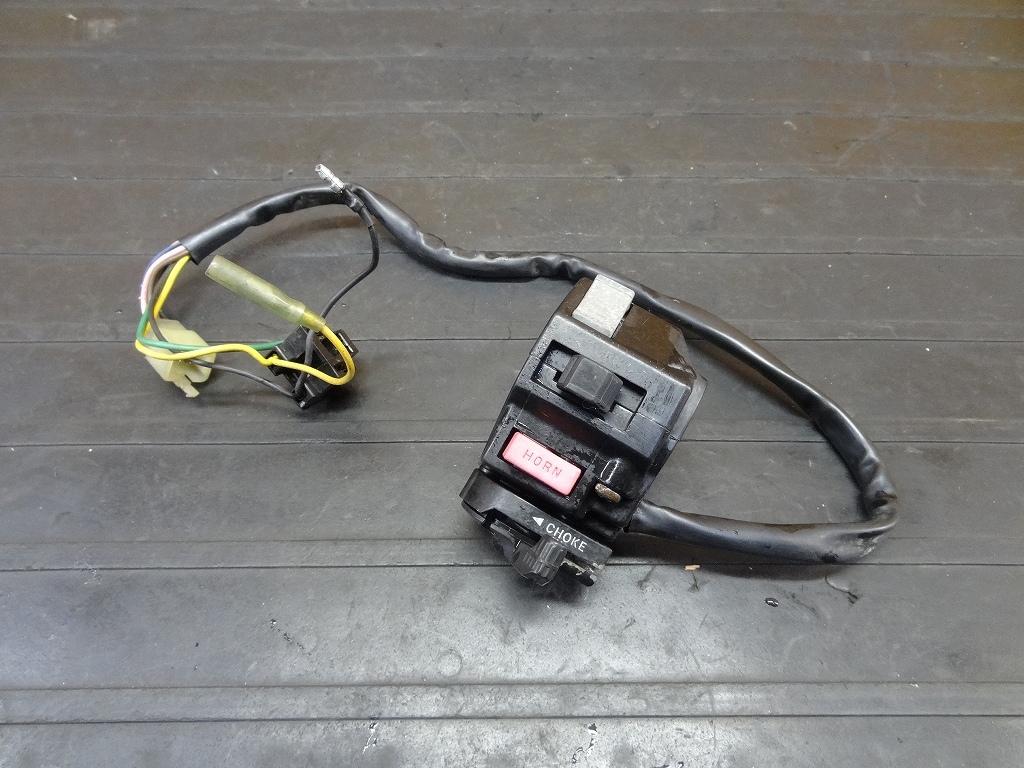 【171206.Y】ビラーゴ250(3DM-045)●ハンドルスイッチ左 チョークレバー | 中古バイクパーツ通販・買取 ジャンクヤード鳥取 JunkYard