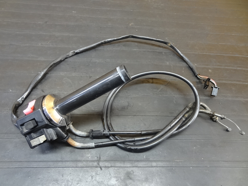【171206.Y】ビラーゴ250(3DM-045)●ハンドルスイッチ右 アクセルワイヤー | 中古バイクパーツ通販・買取 ジャンクヤード鳥取 JunkYard