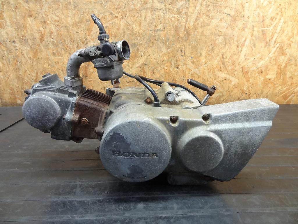 【180413.H】JAZZ(AC09-1028)★ホンダ横型エンジン キャブレター キックペダル エンジン始動確認済 【ジャズ50 3速 リターン クラッチ付 6V | 中古バイクパーツ通販・買取 ジャンクヤード鳥取 JunkYard