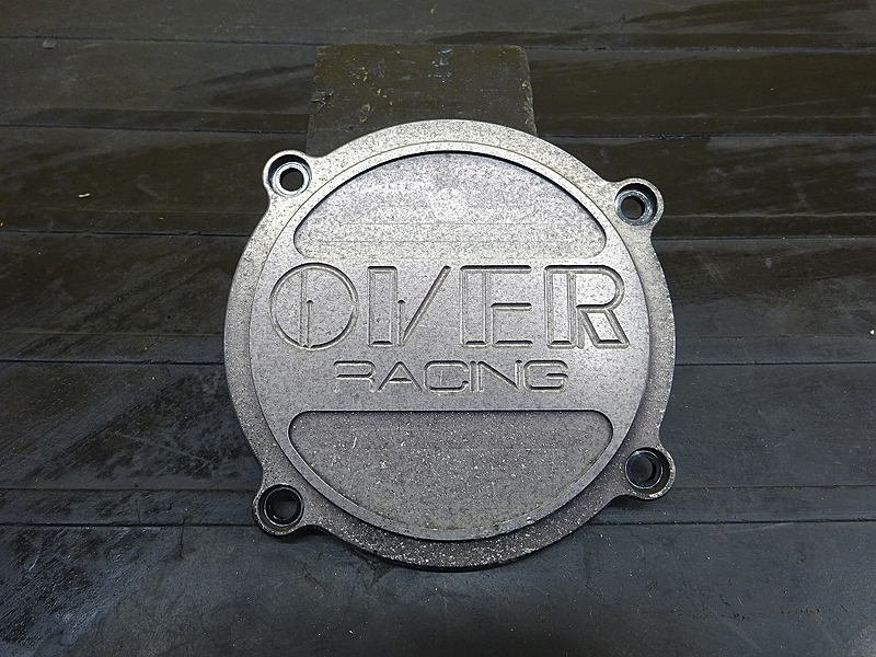 【190529.Y】XJR400(4HM-057)● 社外エンジンカバー ポイントカバー OVER 【XJR400R | 中古バイクパーツ通販・買取 ジャンクヤード鳥取 JunkYard