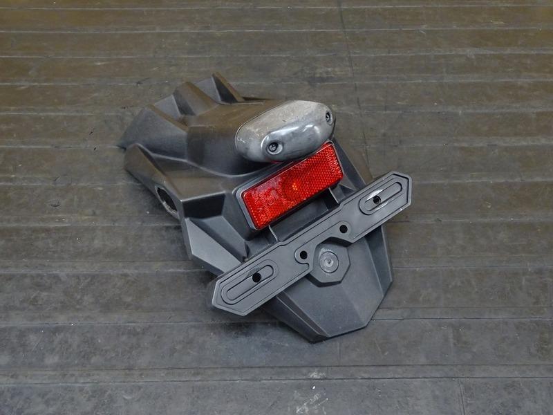 【210527】Ninja250(EX250L-013)■ リアフェンダー ナンバー灯 【NINJA ニンジャ | 中古バイクパーツ通販・買取 ジャンクヤード鳥取 JunkYard