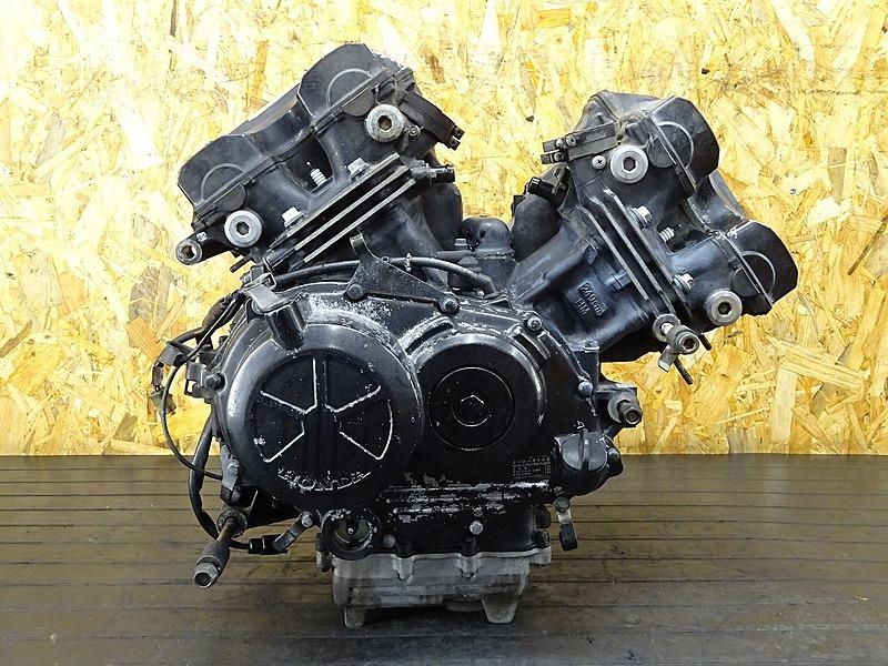 【200303】VTZ250(MC15-1060)■ 中古エンジン 始動確認後取り外し!! セルモーター ジェネレーター 37294㎞ 【VT250F | 中古バイクパーツ通販・買取 ジャンクヤード鳥取 JunkYard