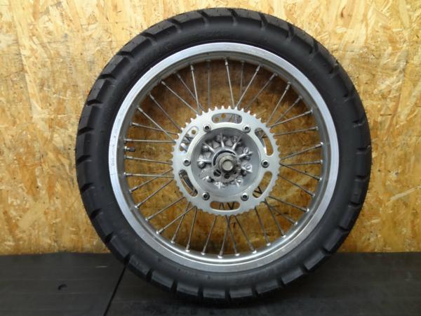 【150825】KDX125SR(DX125A)◇リアホイール 18×1.85 タイヤ付 | 中古バイクパーツ通販・買取 ジャンクヤード鳥取 JunkYard