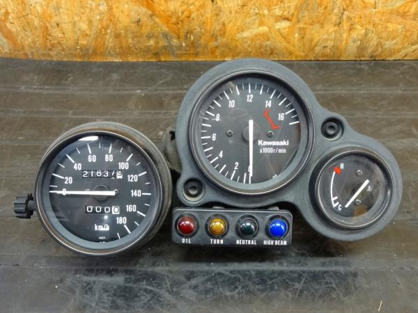 【160604】ZXR400(ZX400H)◎メーターユニット スピード タコ | 中古バイクパーツ通販・買取 ジャンクヤード鳥取 JunkYard