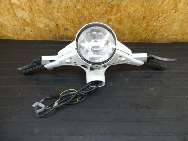 【160728】べスパPK125S◆ハンドル ライト メーターカバー 難有   中古バイクパーツ通販・買取 ジャンクヤード鳥取 JunkYard