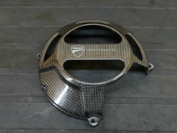 【160930】ドゥカティ 999S◇クラッチカバー カーボン[エンジン | 中古バイクパーツ通販・買取 ジャンクヤード鳥取 JunkYard