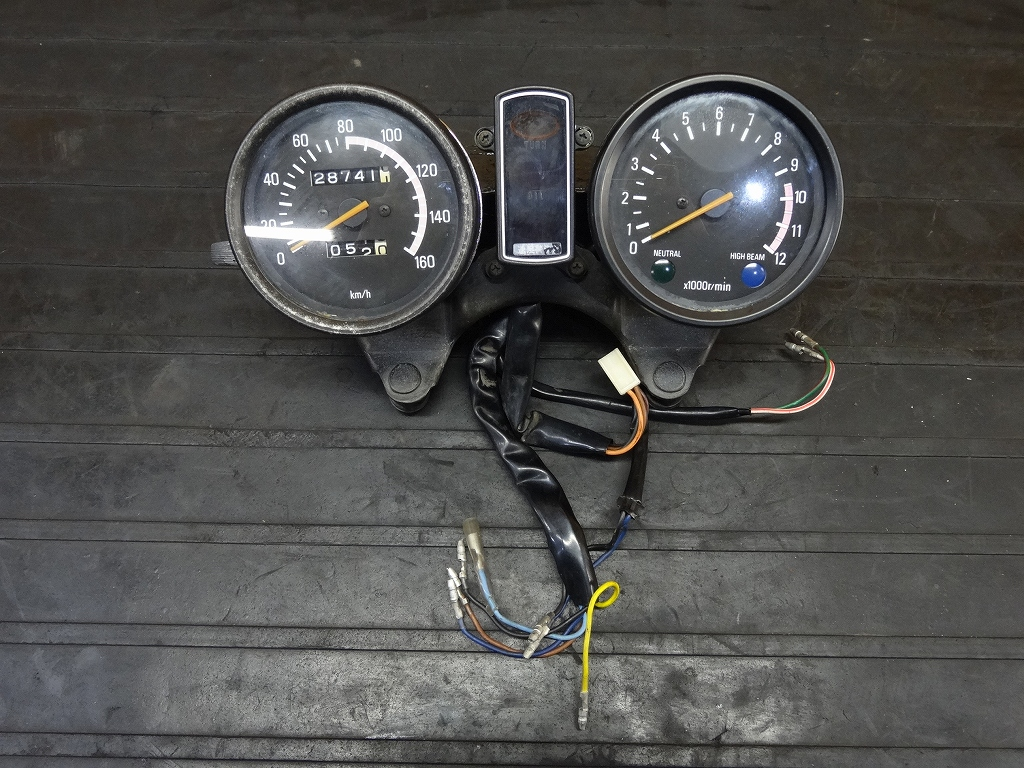 【171208.Y】XS250Spl(4A8-385)☆メーターユニット タコ/スピードメーター | 中古バイクパーツ通販・買取 ジャンクヤード鳥取 JunkYard