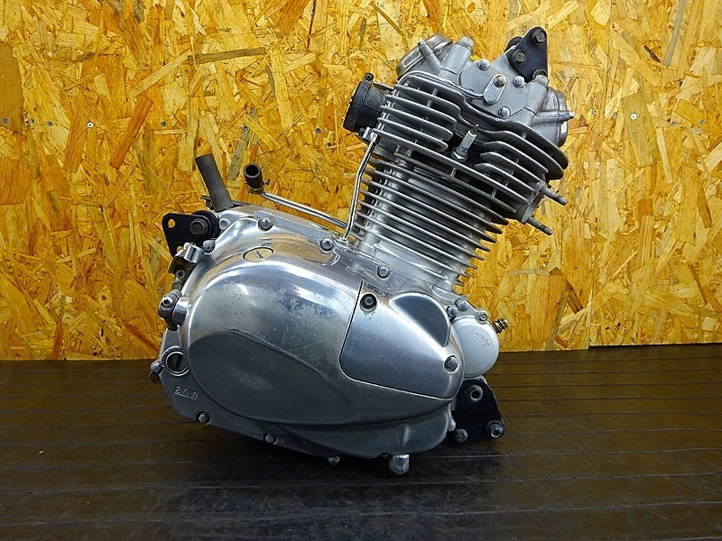 【191125.K】エストレア(BJ250A-074)★ 中古エンジン 始動確認後取り外し!! ジェネレーター セルモーター 19916㎞ | 中古バイクパーツ通販・買取 ジャンクヤード鳥取 JunkYard