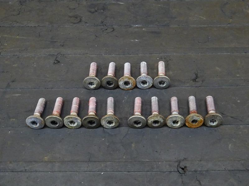 【200903】ZRX400(ZR400E-051)■ ブレーキディスクボルト前後セット フロント/リアブレーキディスクボルト 【イモビ付 '05 ZRX-Ⅱ ZRX-2 | 中古バイクパーツ通販・買取 ジャンクヤード鳥取 JunkYard