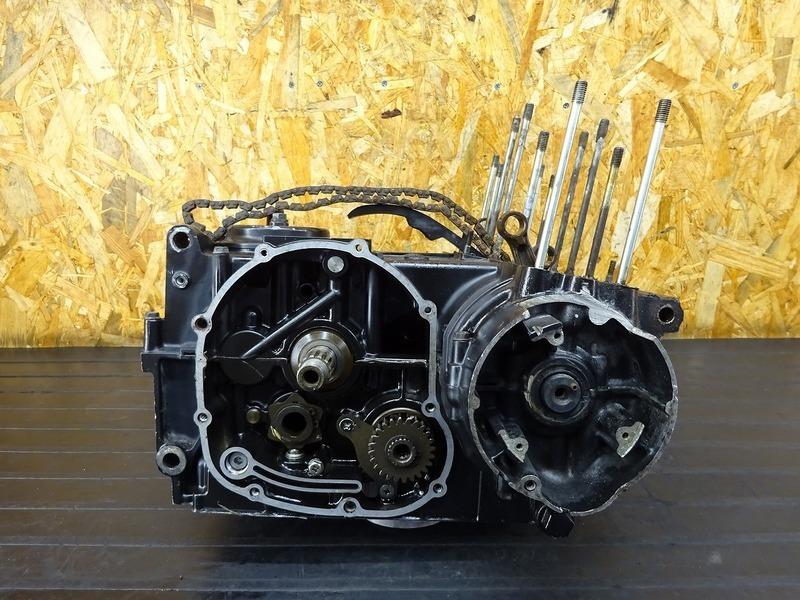 【201127】■ZX400AE エンジン腰下 クランクシャフト/ケース ミッション ジャンク!! GPZ400?? GPZ400F?? ゼファー400?? ※エンジンパーツ | 中古バイクパーツ通販・買取 ジャンクヤード鳥取 JunkYard