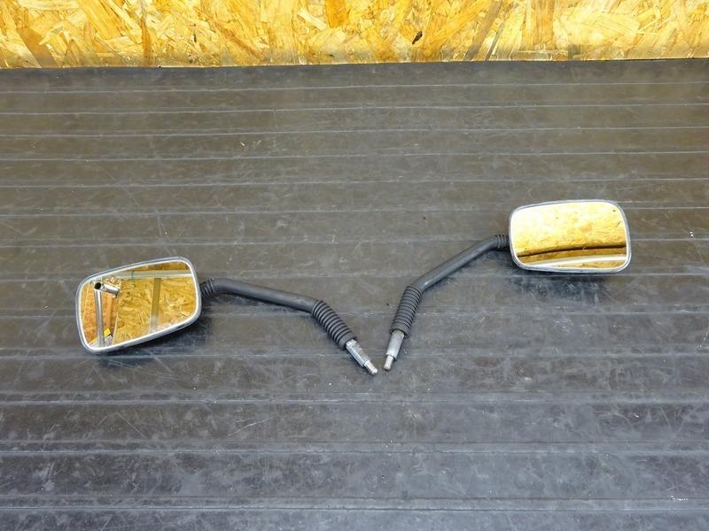 【210512】ジャイロX(TD01-1202)◇ 純正ミラー 左右セット ジャンク!! 【GYRO X | 中古バイクパーツ通販・買取 ジャンクヤード鳥取 JunkYard