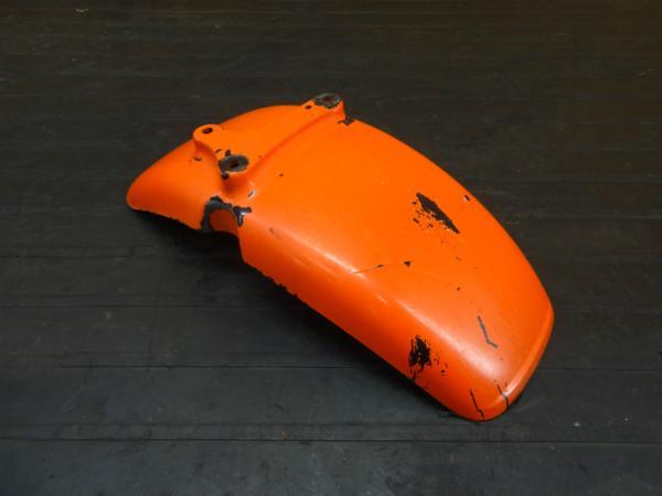 【170601】エイプ50(AC16-1010)◆フロントフェンダー 塗装用に? 難有 | 中古バイクパーツ通販・買取 ジャンクヤード鳥取 JunkYard