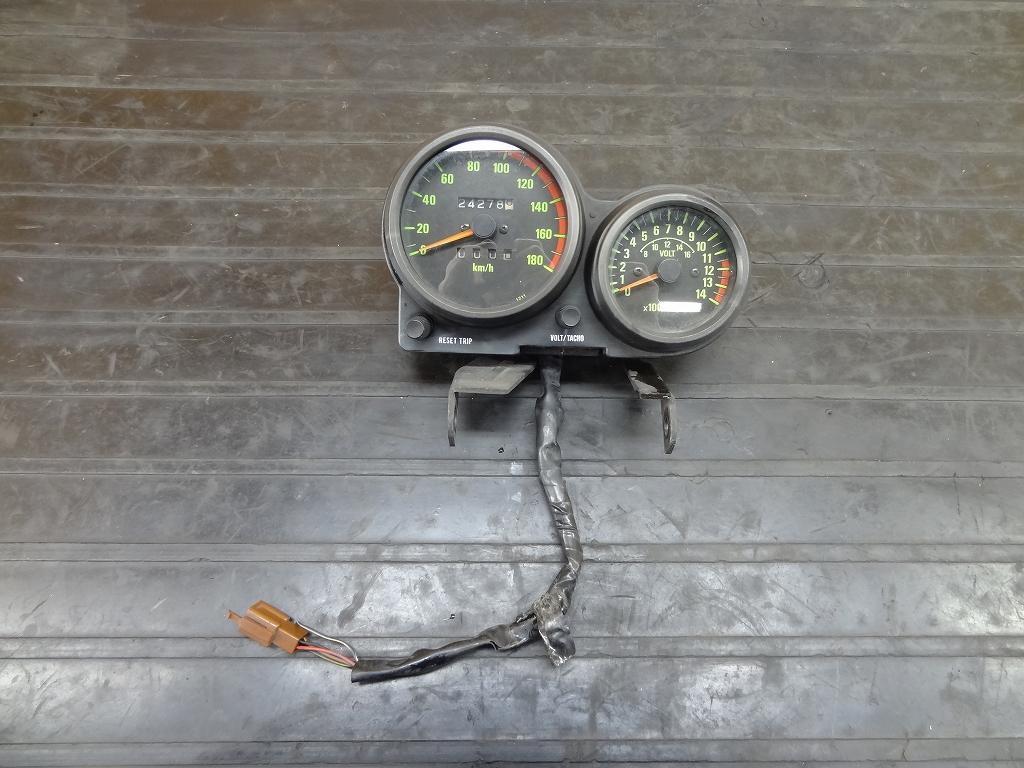 【180418.K】GPZ400(ZX400A-301)●メーターユニット ステー スピード/タコ ジャンク 【GPZ400F-Ⅱ】 | 中古バイクパーツ通販・買取 ジャンクヤード鳥取 JunkYard