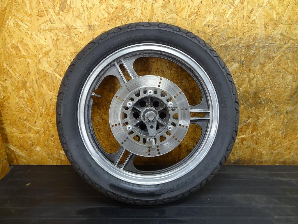 【180418.K】GPZ400(ZX400A-301)●リアホイール(18×2.15) アクスルシャフト 【GPZ400F-Ⅱ】   中古バイクパーツ通販・買取 ジャンクヤード鳥取 JunkYard