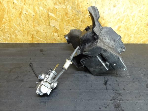 【150115】KDX125(DX125A)◆キャブレター キャブ エアクリ | 中古バイクパーツ通販・買取 ジャンクヤード鳥取 JunkYard