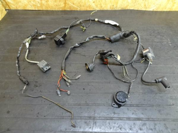 【150115】KDX125(DX125A)◆メインハーネス コイル レギュレター | 中古バイクパーツ通販・買取 ジャンクヤード鳥取 JunkYard