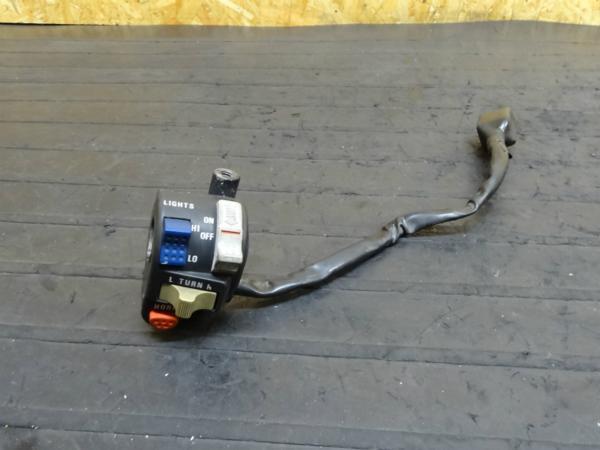 【150115】KDX125(DX125A)◆ハンドルスイッチ左 ライトスイッチ | 中古バイクパーツ通販・買取 ジャンクヤード鳥取 JunkYard