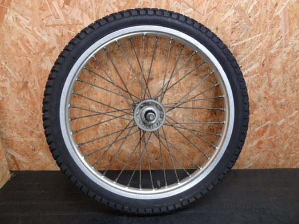 【150115】KDX125(DX125A)◆フロントホイール アクスルシャフト | 中古バイクパーツ通販・買取 ジャンクヤード鳥取 JunkYard