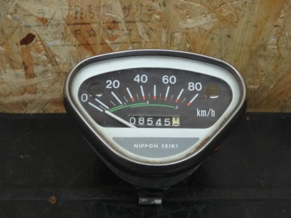 《140603》DAX50(ST50)◇スピードメーター 80km 6V【ダックス   中古バイクパーツ通販・買取 ジャンクヤード鳥取 JunkYard