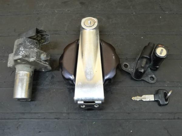 【150316】GL400ウィング◎キーセット キー 鍵 キャップ【WING   中古バイクパーツ通販・買取 ジャンクヤード鳥取 JunkYard