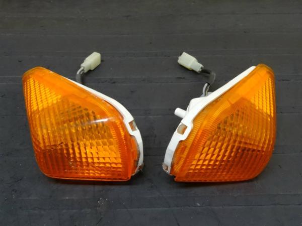 【150408】ZZR250(EX250H)◎フロントウィンカー 左右 レンズ | 中古バイクパーツ通販・買取 ジャンクヤード鳥取 JunkYard