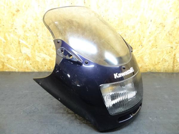 【150408】ZZR250(EX250H)◎アッパーカウル フロントカウル | 中古バイクパーツ通販・買取 ジャンクヤード鳥取 JunkYard