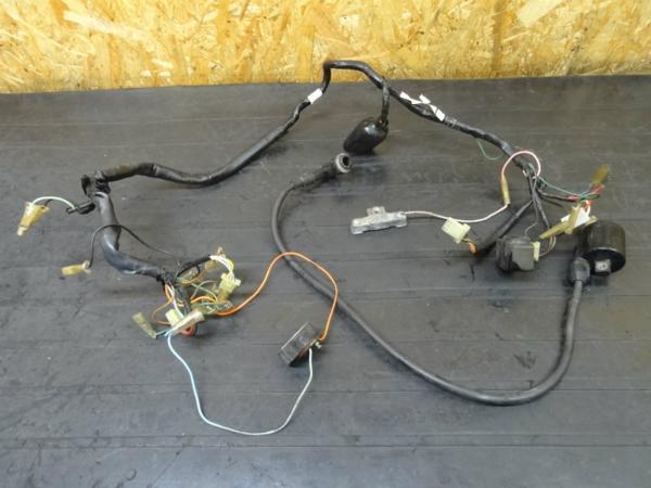 【150228】モトコンポ(AB12)◎IGコイルCDIハーネス リレー電装6V   中古バイクパーツ通販・買取 ジャンクヤード鳥取 JunkYard