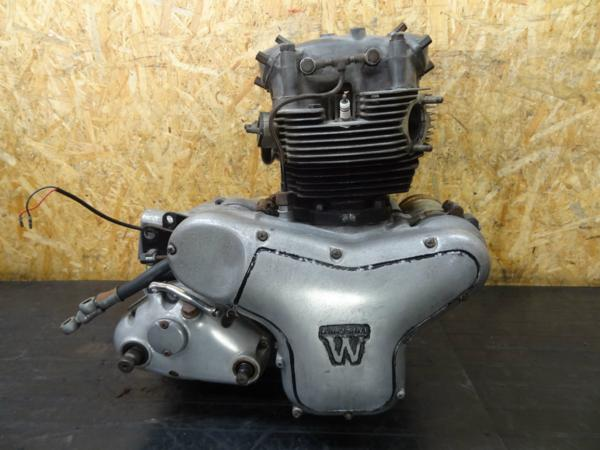 【150406】W1SA(W1F)◆エンジン クランキングOK!! 難有   中古バイクパーツ通販・買取 ジャンクヤード鳥取 JunkYard