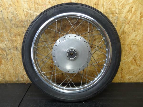 【150406】W1SA(W1F)◆フロントホイール 19×1.85   中古バイクパーツ通販・買取 ジャンクヤード鳥取 JunkYard