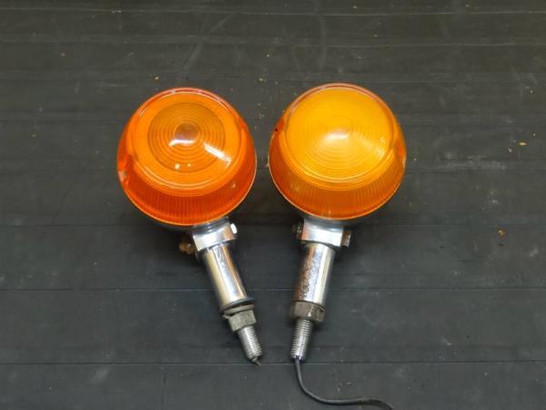 【150801】GT550◇ウインカー 2個 純正レンズ オレンジ【GT380? | 中古バイクパーツ通販・買取 ジャンクヤード鳥取 JunkYard
