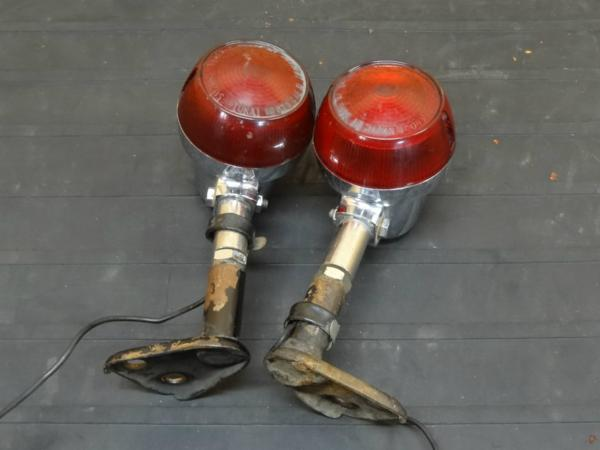 【150801】GT550◇ウインカー 2個 ステー 純正赤レンズ【GT380?   中古バイクパーツ通販・買取 ジャンクヤード鳥取 JunkYard