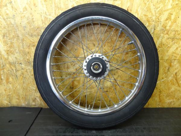 【150801】GT550◇フロントホイール 19インチ 難有 【GT380?   中古バイクパーツ通販・買取 ジャンクヤード鳥取 JunkYard