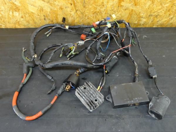 【150907】KDX250(DX250F)◇メインハーネス CDIレギュレター難有 | 中古バイクパーツ通販・買取 ジャンクヤード鳥取 JunkYard
