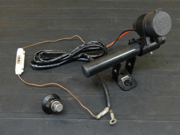 【161003】YZF-R25(RG10J)◇マルチバー22.2φ USB[ナビホルダー   中古バイクパーツ通販・買取 ジャンクヤード鳥取 JunkYard