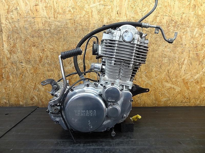 【180606.Y】SR400(RH01J-020)☆ 中古エンジン 始動確認後取り外し キックペダル オイルホース付 H20年車 圧縮11k | 中古バイクパーツ通販・買取 ジャンクヤード鳥取 JunkYard