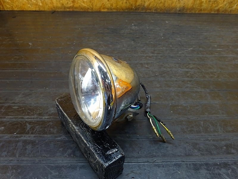 【180901.H】JAZZ(AC09-1202)● ヘッドライト ステー レンズ ジャンク 社外ベースライト? | 中古バイクパーツ通販・買取 ジャンクヤード鳥取 JunkYard