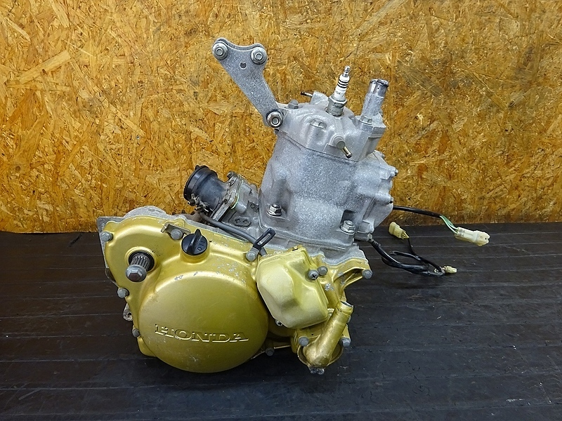 【190204.H】CRM250AR(MD32-1101)● エンジン クランク ギア シリンダー クランキングOK? ジャンク | 中古バイクパーツ通販・買取 ジャンクヤード鳥取 JunkYard