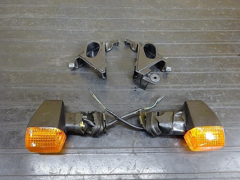 【190501.K】ZX-10R'04-05● フロントウインカー左右 ステー マウント 部品取りに? 【C型 ZX1000C ニンジャ   中古バイクパーツ通販・買取 ジャンクヤード鳥取 JunkYard