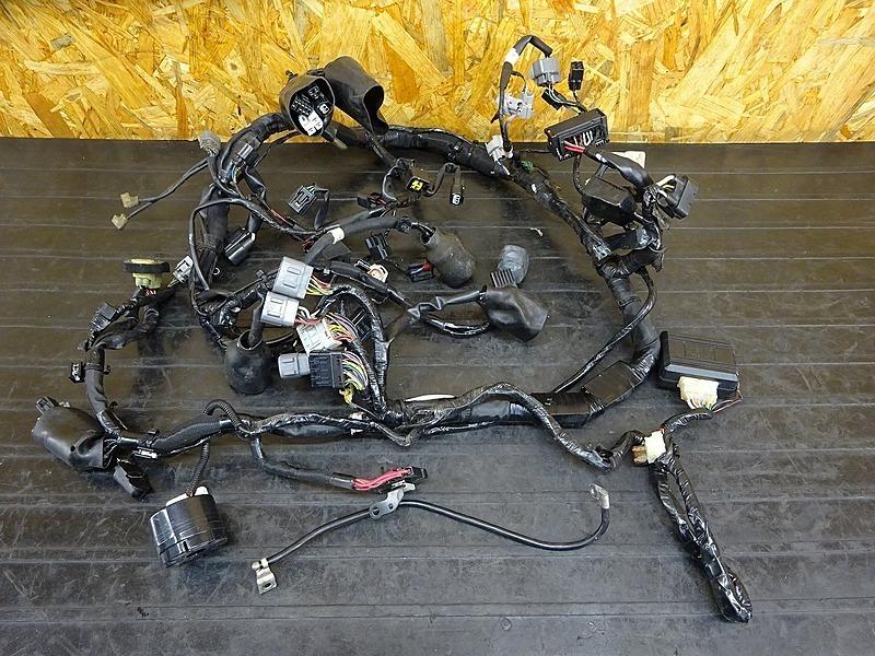 【200406】ZX-6R('13 ABS)◇ メインハーネス ヒューズボックス リレー バンクアングルセンサー セキュリティー 【ニンジャ Ninja ZX636F | 中古バイクパーツ通販・買取 ジャンクヤード鳥取 JunkYard