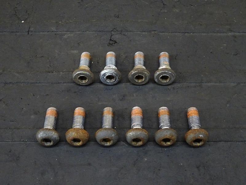 【200930】ホーネット250(MC31-1400)■ ブレーキディスクボルト前後セット フロント/リアブレーキディスクボルト 【後期 燃料メーター付 | 中古バイクパーツ通販・買取 ジャンクヤード鳥取 JunkYard