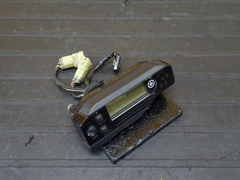 【201106】WR250X(DG15J-004)■ スピードメーター タコメーター インジケーターランプ 31480㎞ 【WR250R | 中古バイクパーツ通販・買取 ジャンクヤード鳥取 JunkYard