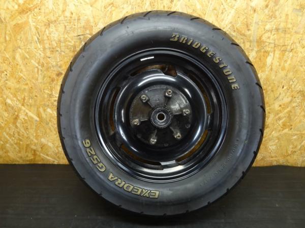 【150820】V-MAX(2WE)◇リアホイール 15×3.50 タイヤ 150/90-15 | 中古バイクパーツ通販・買取 ジャンクヤード鳥取 JunkYard